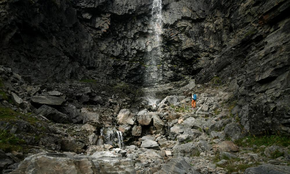 Kitsiputous on Suomen pisin vesiputousten sarja.